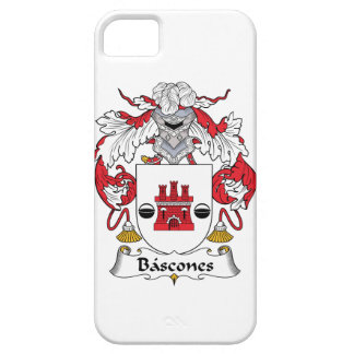 Escudo de la familia de Bascones Funda Para iPhone 5 Barely There