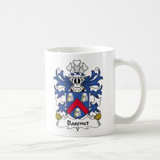 Escudo de la familia de Basenet Taza De Café