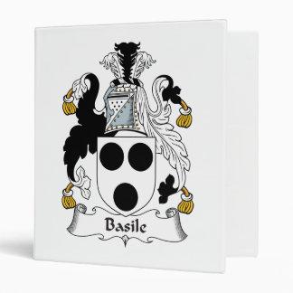 Escudo de la familia de Basile