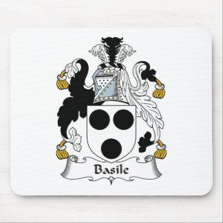 Escudo de la familia de Basile Alfombrilla De Ratones