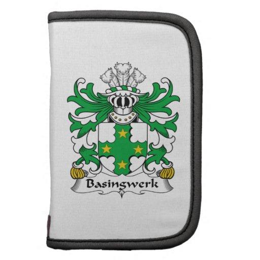 Escudo de la familia de Basingwerk Organizador