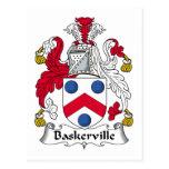 Escudo de la familia de Baskerville Postales