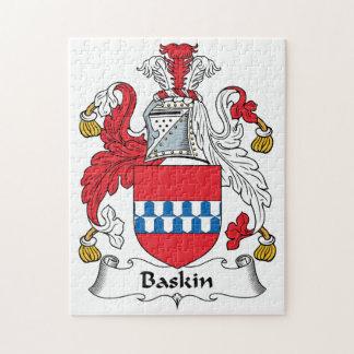 Escudo de la familia de Baskin Rompecabeza