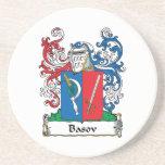 Escudo de la familia de Basov Posavasos Cerveza