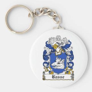 Escudo de la familia de Basse Llaveros Personalizados