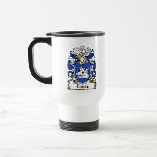 Escudo de la familia de Basse Tazas De Café