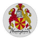 Escudo de la familia de Bassingbone Juego De Fichas De Póquer