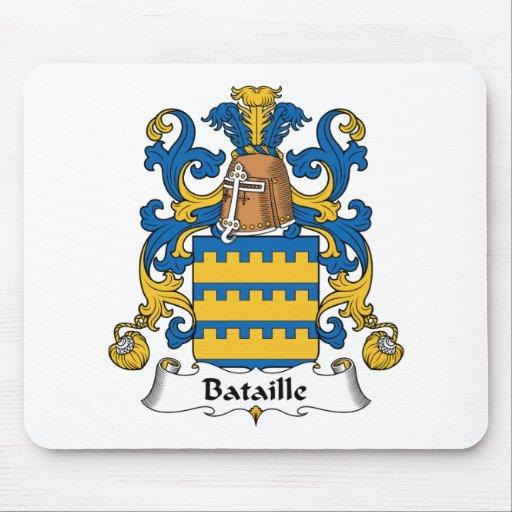Escudo de la familia de Bataille Tapete De Ratones