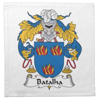 Escudo de la familia de Batalha Servilleta