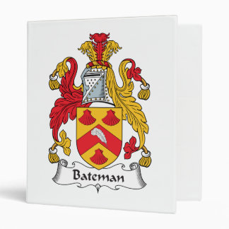 """Escudo de la familia de Bateman Carpeta 1"""""""