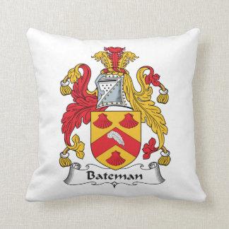 Escudo de la familia de Bateman Cojin
