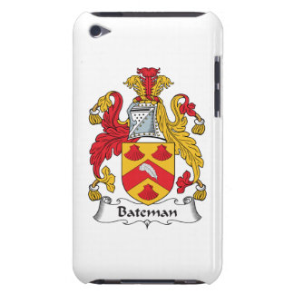 Escudo de la familia de Bateman iPod Touch Case-Mate Cobertura