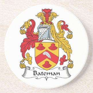 Escudo de la familia de Bateman Posavasos Manualidades
