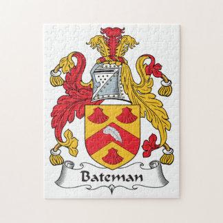 Escudo de la familia de Bateman Puzzle Con Fotos