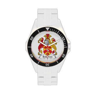 Escudo de la familia de Bateman Relojes De Mano