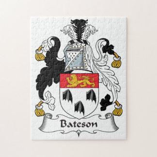 Escudo de la familia de Bateson Rompecabeza Con Fotos