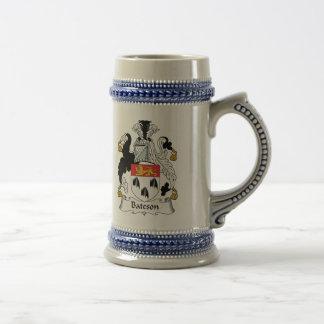 Escudo de la familia de Bateson Taza De Café