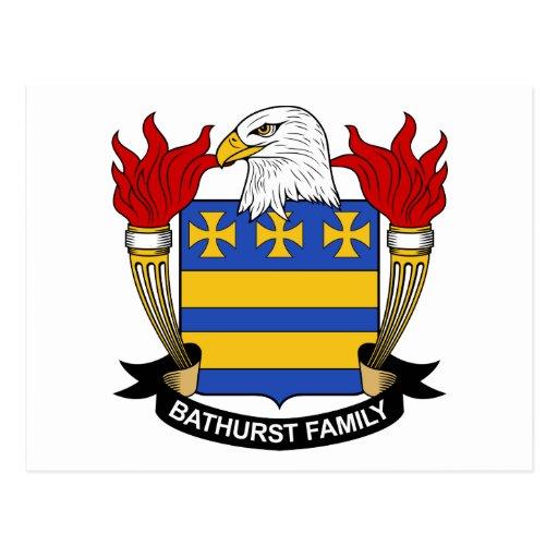 Escudo de la familia de Bathurst Postal