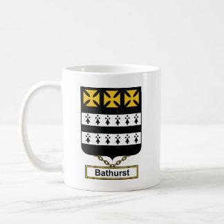 Escudo de la familia de Bathurst Taza