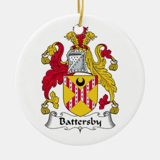 Escudo de la familia de Battersby Adorno De Reyes