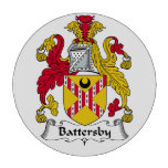 Escudo de la familia de Battersby Fichas De Póquer