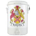 Escudo de la familia de Battersby Enfriador De Bebida Igloo