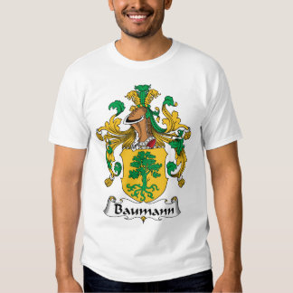Escudo de la familia de Baumann Remeras
