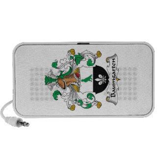 Escudo de la familia de Baumgarten iPod Altavoz