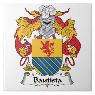 Escudo de la familia de Bautista Azulejos Cerámicos