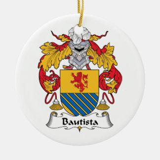 Escudo de la familia de Bautista Ornamente De Reyes