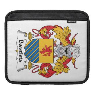 Escudo de la familia de Bautista Fundas Para iPads