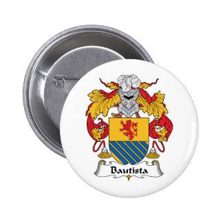 Escudo de la familia de Bautista Pin