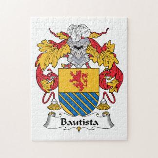 Escudo de la familia de Bautista Puzzle Con Fotos