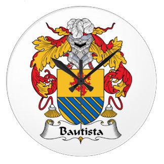 Escudo de la familia de Bautista Reloj