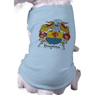 Escudo de la familia de Bautista Ropa Para Mascota