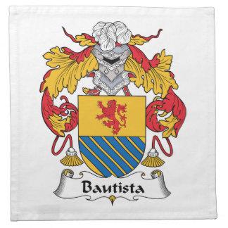 Escudo de la familia de Bautista Servilletas De Papel