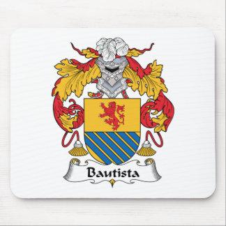 Escudo de la familia de Bautista Tapetes De Ratón