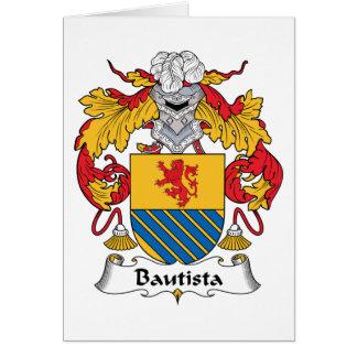 Escudo de la familia de Bautista Tarjeton