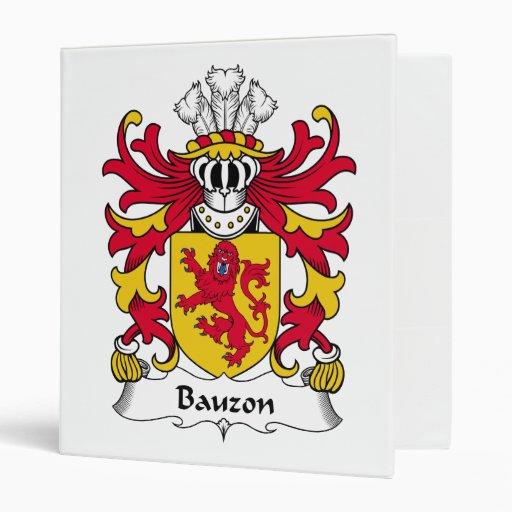 Escudo de la familia de Bauzon