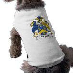 Escudo de la familia de Baxter Camisas De Mascota