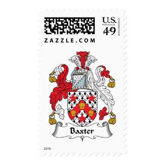 Escudo de la familia de Baxter Franqueo