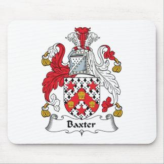 Escudo de la familia de Baxter Mouse Pad