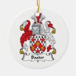 Escudo de la familia de Baxter Ornamentos De Reyes