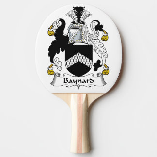 Escudo de la familia de Baynard Pala De Tenis De Mesa