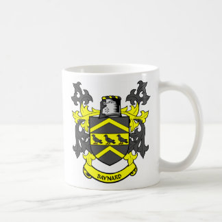 Escudo de la familia de BAYNARD Tazas De Café