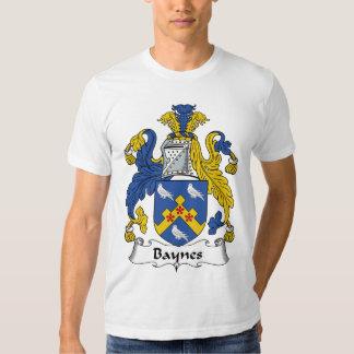 Escudo de la familia de Baynes Playeras