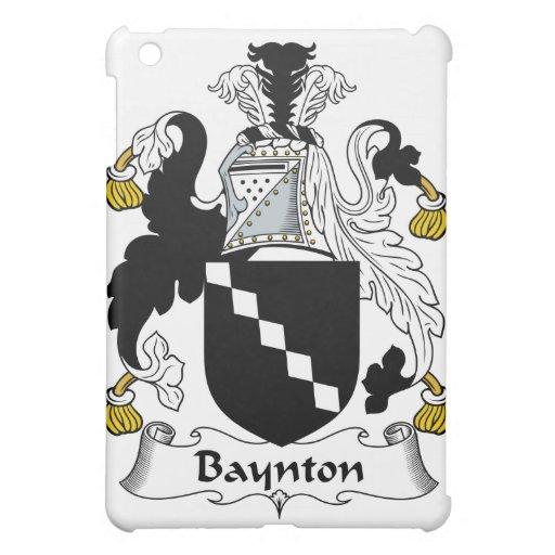 Escudo de la familia de Baynton