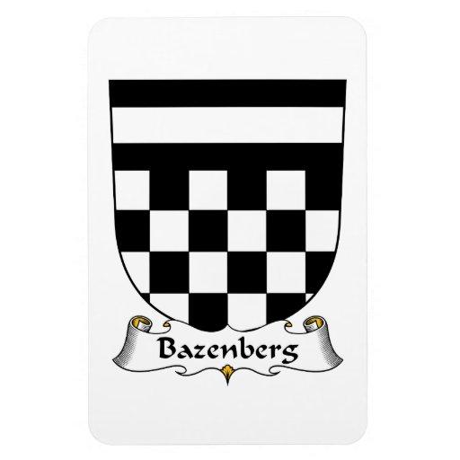 Escudo de la familia de Bazenberg Iman De Vinilo