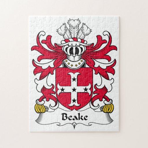Escudo de la familia de Beake Rompecabezas