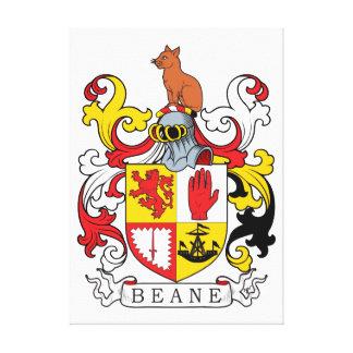 Escudo de la familia de Beane Impresion En Lona